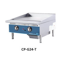 2 BURNER GAS GRIDDLE-THERMOSTAT CONTROL