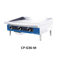 3 BURNER GAS GRIDDLE-THERMOSTAT CONTROL