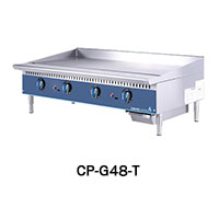 4 BURNER GAS GRIDDLE-THERMOSTAT CONTROL