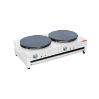 Electric Crepe Maker with Two Hotplate