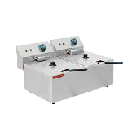 4L-2 Electric Two Tank Fryer With Two Basket