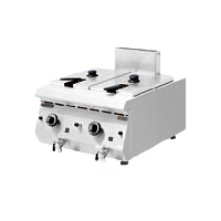 600S Gas Fryer with 2 Tanks