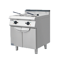 700S Electric Fryer with 2 Tank and 2 Basket