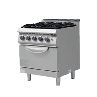700S Gas Cooker with 6 Burner & Oven
