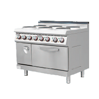 700S Electric Cooker with 6 EGO Burner with O