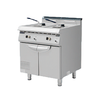 700S Electric Fryer with 2 Tank with 2 Basket
