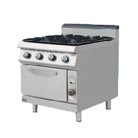 Gas Cooker with 4 Burner with Oven