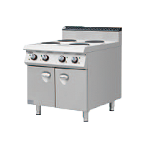 900S Electric 4 Round Hotplate Stove with Ove