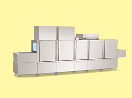 Flight Type Dishwasher with Conveyor Belt