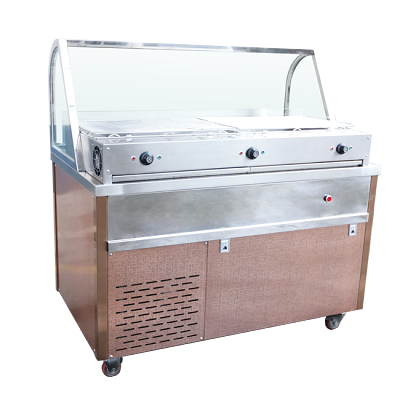 Mobile Yakitori Grill Table