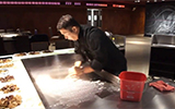 Teppanyaki grill table cleaning: simple to 1, 2, 3!