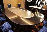 Teppanyaki Grill Table Equipment Material & Routine Maintenance