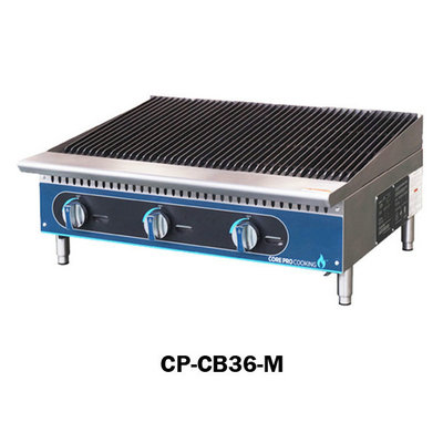 3 Burner Gas Charbroiler