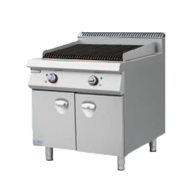 Electric Lava Rock Grill With Cabinet