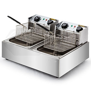 Electric / Gas Tank Fryer With Basket